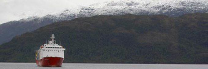 Durch die Fjorde von Chile