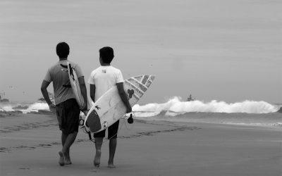 Anziehungskraft der Wellen