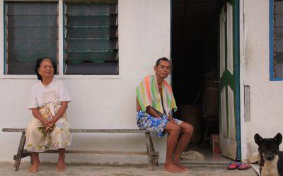 Langhaus bei Kalang
